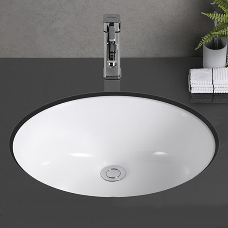 Bathroom ceramic counter lavabo basin