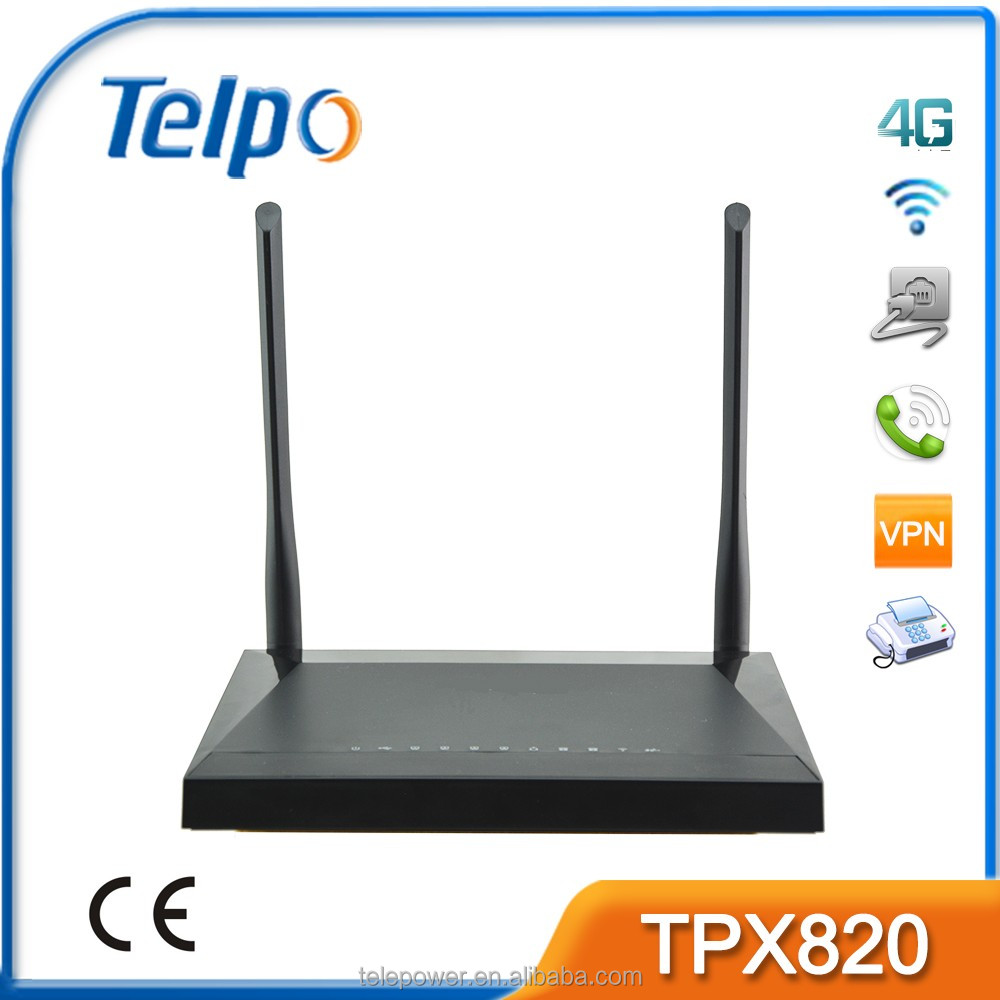 home automation gateway with 1WAN 4 LANS Telpo TPX820