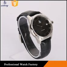 Mechanical Stainless Steel Band Chain Black Color Wrist Watch Oem 38Mm / 42Mm Watchband