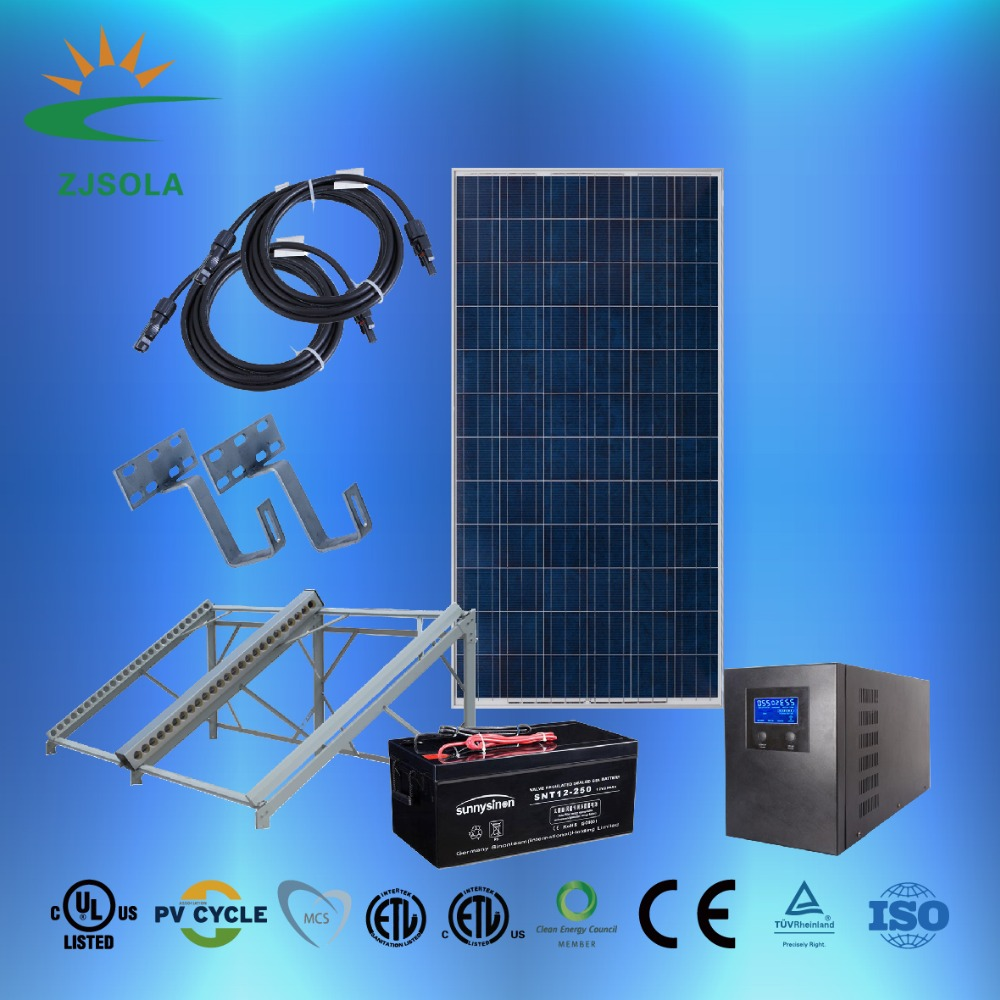 300w Off Grid Home Solar System Charger Further Power Also Street Light Circuit Suppliers And Manufacturers At