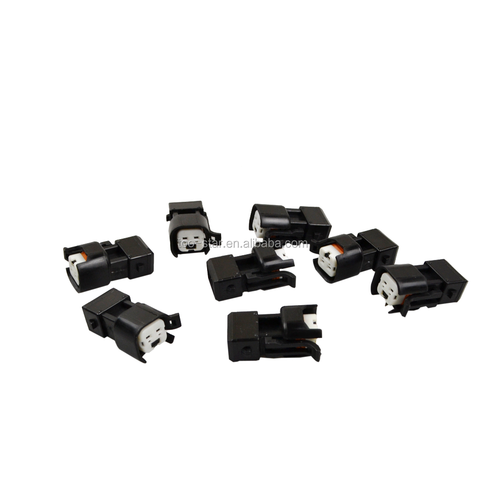 DENSO FEMALE TO USCAR EV6 ADAPTER MALE PLUG FUEL INJECTOR ADAPTERS 8X