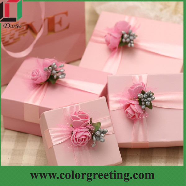 Unique Luxury Wedding Gifts : Luxury Wedding Favors Candy Box Small Wedding Decoration Custom Gift ...
