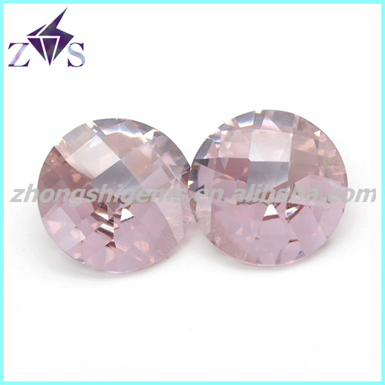 Wholesale cubic zircon synthetic 1.25mm glass round stones, hot stone