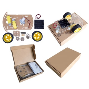 2 Wheels DIY Car 2WD Smart Robot Car Chassis Kit