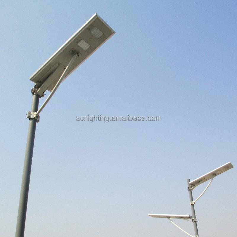 Integrated Solar Street Light /all In One Solar Street Light 25w ...