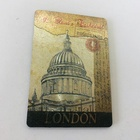 Beautiful London Souvenir Silver Aluminium Foil Magnetic Sticker Fridge Magnets
