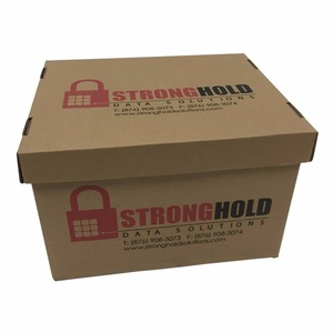 Customize strong printing for document packaging box