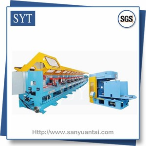 SYT-SD710 cold rolled type steel wire drawing machines manufacturer