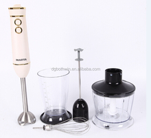 Hot selling ! 600W electric hand blender/ mixer with stainless steel rod