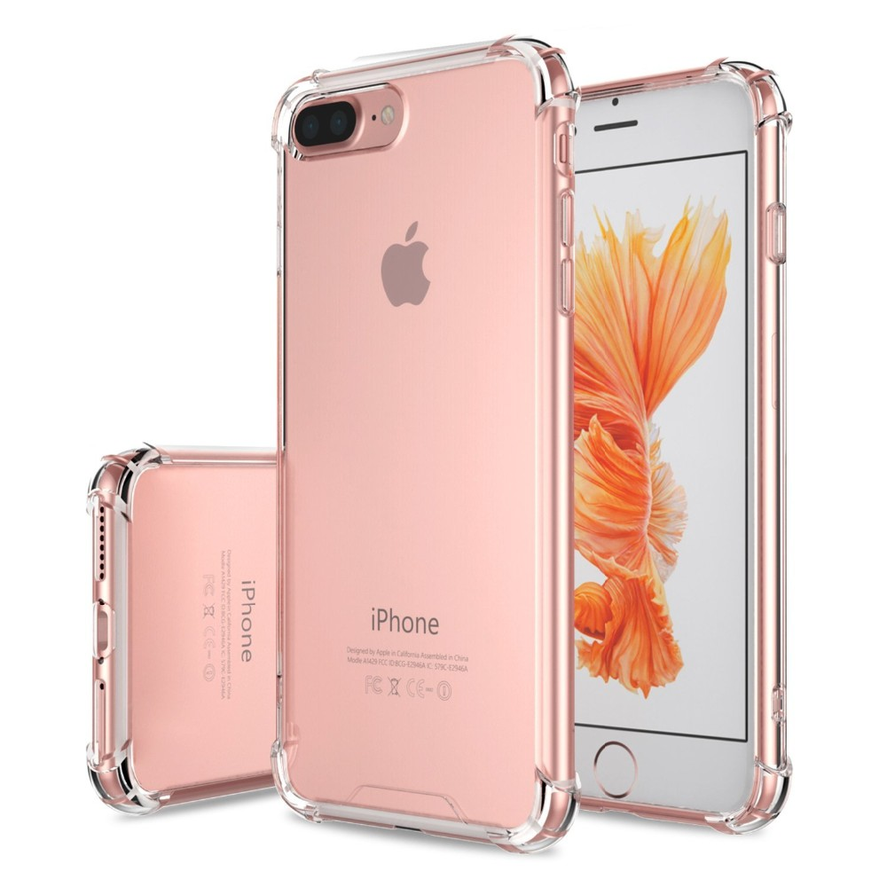 2016 Alibaba September top sale high tec shockproof cover cases back for iphone 7 plus tpu+pc wholesale
