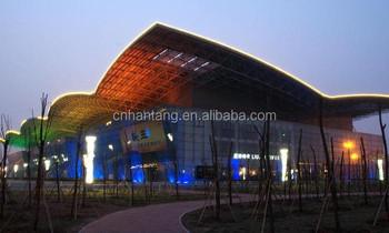 Lightweight Space Frame Steel Truss Exhibition Hall Roofing
