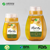 china factory wholesaler squeeze bottles plastic food grade empty clear pet bottle bulk sale 250g 500g 1000g empty honey bottles