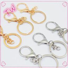 Pabrik harga grosir tidak ada minimum OEM kustom semua jenis emas perak  disepuh Logam gantungan kunci d03643914d04