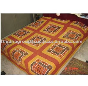 Indian Handworked Bed Covers-JNU