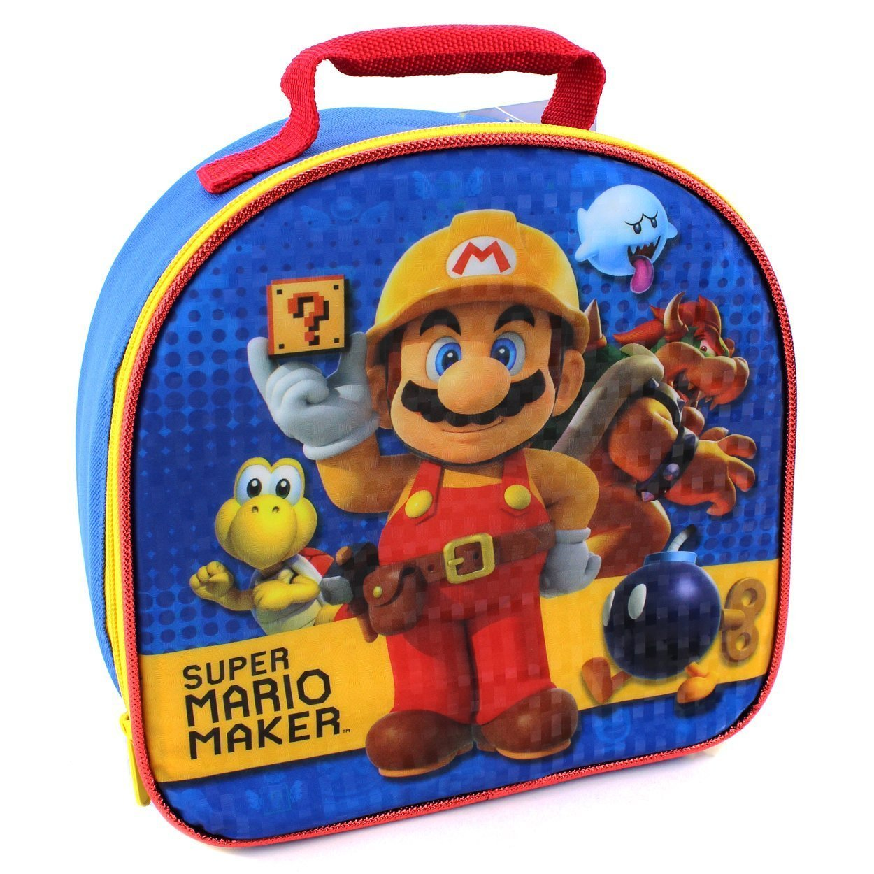 47537445a8 Get Quotations · Super Mario Soft Lunch Box (Super Mario Maker)