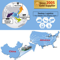 Top Alibaba shipping freight forwarder china to usa