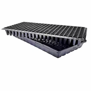 200 Cell 1020 Flat Seedling Starter Trays Extra Strength Seed Planting Insert Plug Tray, Soil & Hydroponics Plant Growing tray