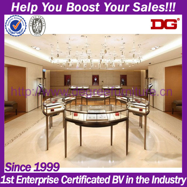 High End Jewelry Shop Interior Design And Decoration