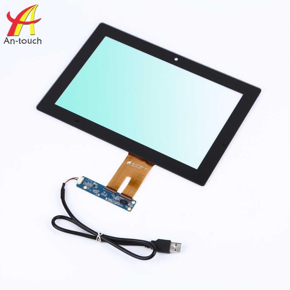 Hot selling 10.1 inch silicone touch screen finger with touch screen kit for car monitor