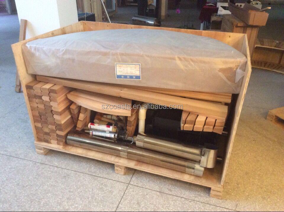 salud lea jacuzzi redondo de madera para la venta