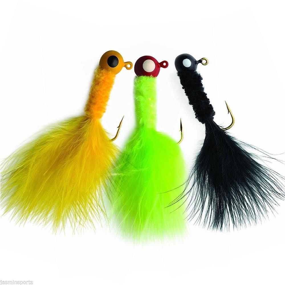 Slaters Jigs 8S8T-32-3 Crappie Fishing Jigs