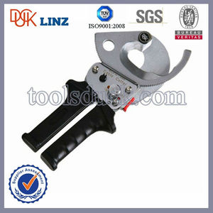 Max cutting dia 35mm portable hand ratcheting aluminum cable cutter/hand shear cutting tools/ratchet cutters hand tools