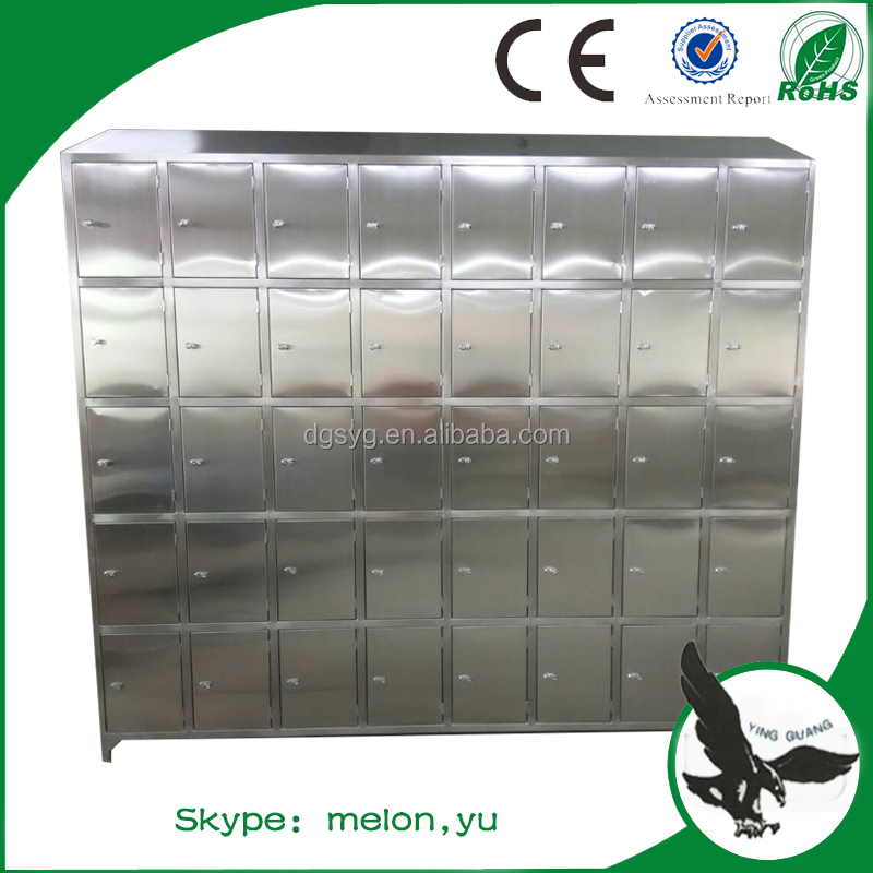 40 Doors High Quality Stainless Steel 304 Locker/Cabinet