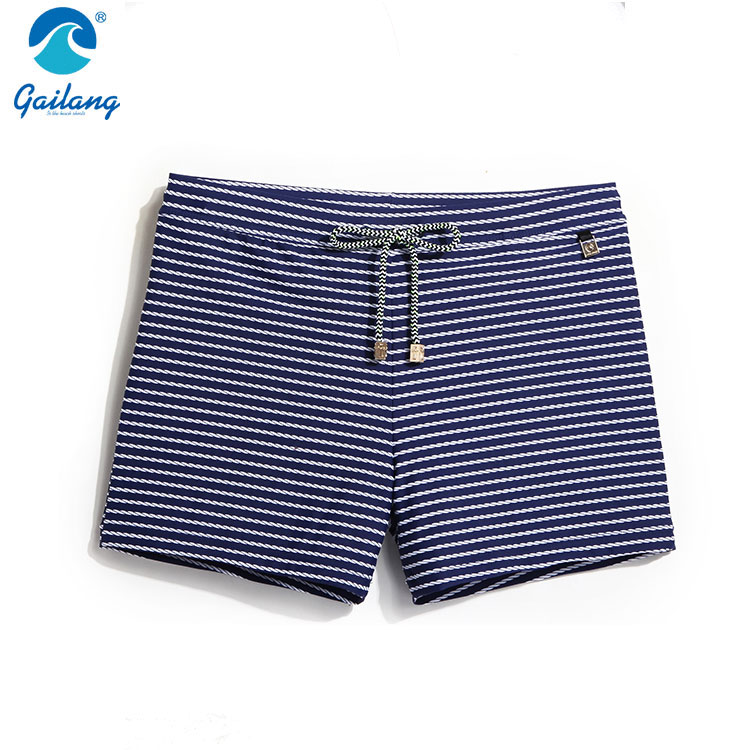 Alibaba China high quality new style personalised swim trunks men