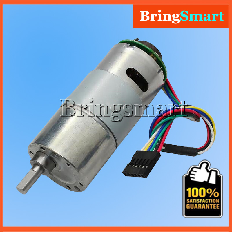 37gb-545 12 Volt Dc Encoder Motor Hall Signal Output With Code ...