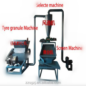 Zhengzhou factory tyre recycling machine/tire crusher/tire shredder line