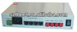 Multi-Channel Dual Loop Self-recovery Fiber Multiplexer with 2 optical ports,Extend RS-232 transmission distance