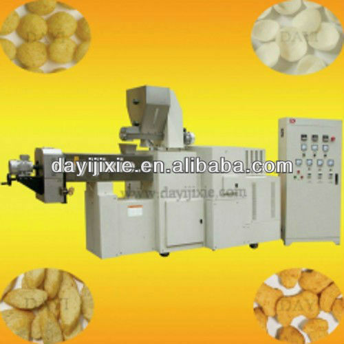 excellent extruded puff/ snack machinery