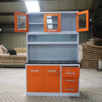 Custom Logo Printed Steel Kitchen Cabinet Mini Kitchen Cabinet Pantry Cupboard Buy Pantry Cupboard Steel Kitchen Cabinet Mini Kitchen Cabinet