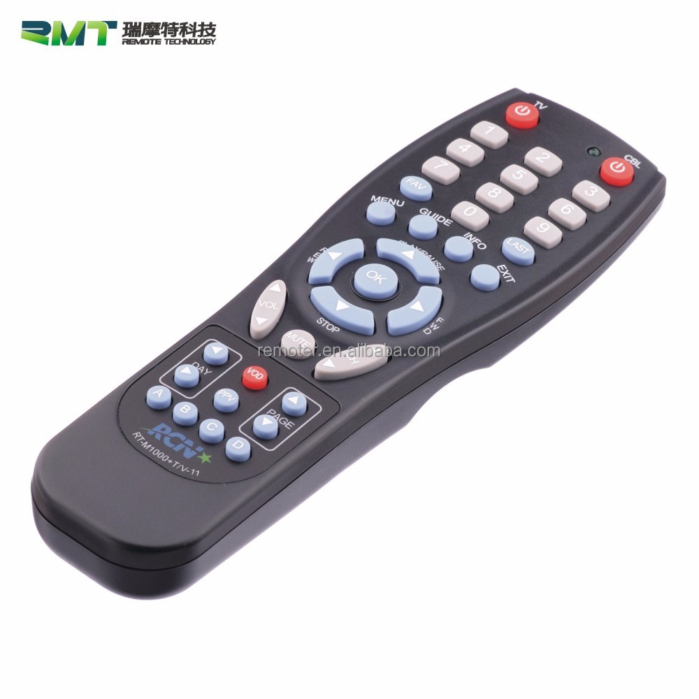 High Quality Replacement TV Remotes STB/DVB/DVD/ Satellite Universal Remote Control with Receiver
