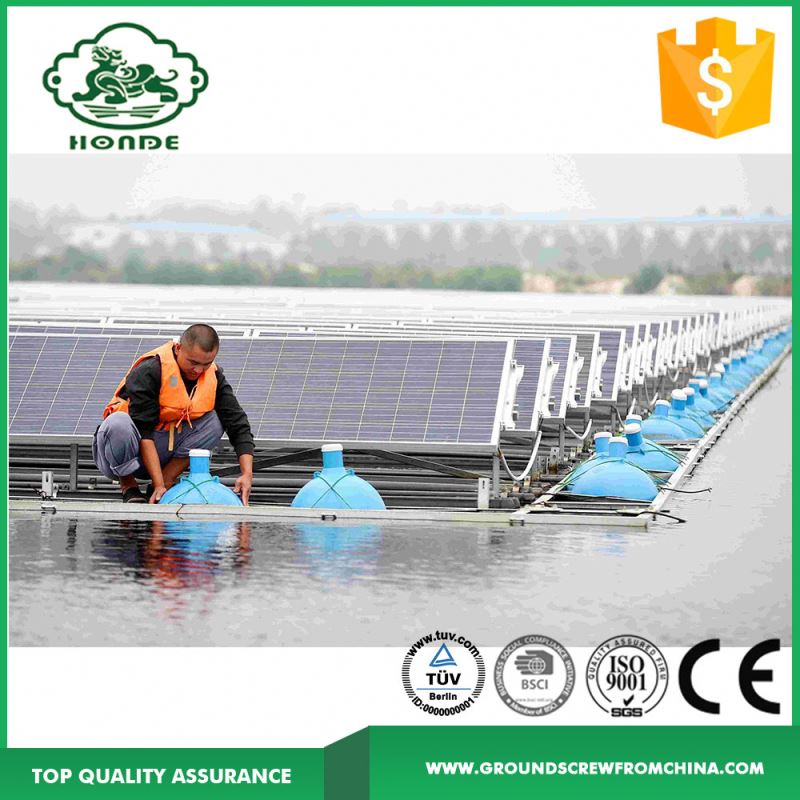 Best Selling Products Ground Mount Solar Racking for Fishing