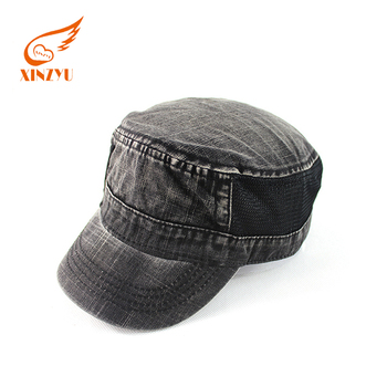 Custom Checked Fitted Women Army Military Cap Hat Flat Top Military ... d975466419b