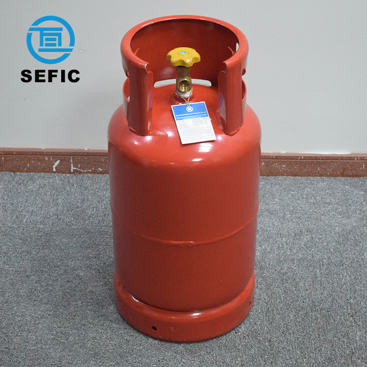 Different Sizes and Colors Trade Assurance household Small LPG Gas Cylinder Price Kitchen Cooking Cylinder Price