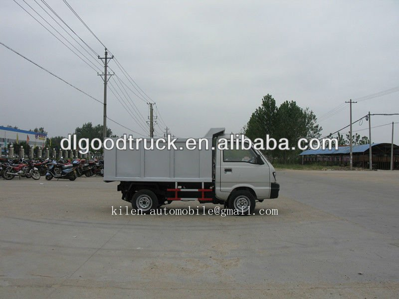 Quick seller !Changan 4x4 mini dump garbage truck for sale