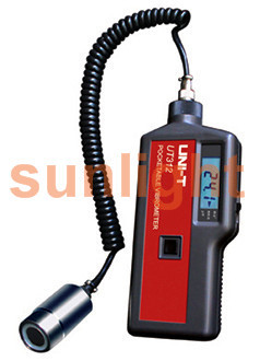 Handheld Vibration Tester, Displacement/Velocity/Acceleration UT312