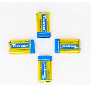 competitive factory price golden power 9v 6LR61 Alkaline primary Battery