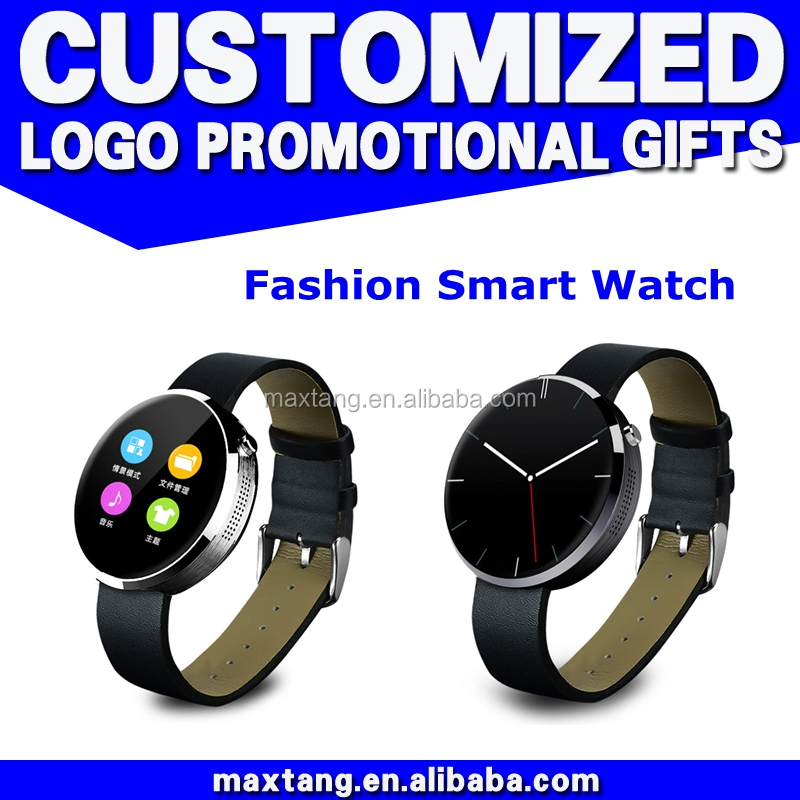 Alibaba China Electronic Gifts Cheap Bluetooth Touch Screen Led Round Smart Watch