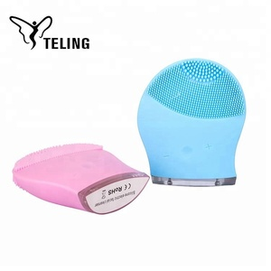 Professional Electric Silicone Massage Face Washing Cleansing Brush