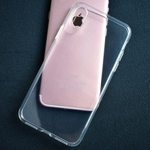The new hot high-quality transparent soft sense TPU phone sets for iPhone 7, for iPhone 8 TPU case