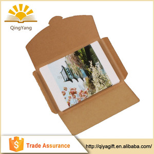 kraft envelope bag for post card