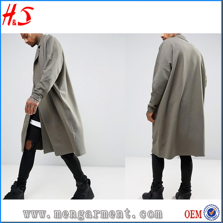 New arrival longline blank high quality xxxxl plain custom oem no brand name hoodies for men
