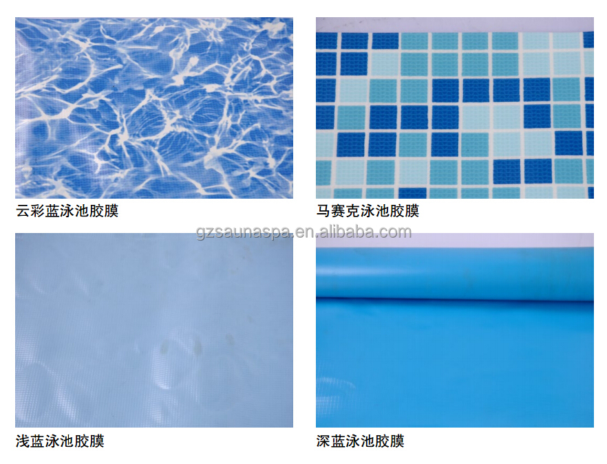 Hot Sale Swimming Pool Plastic Liner Blue Pvcswimming Pool Liner Buy Swimming Pool Plastic