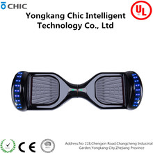 2017 hot sell black self balancing scooter 6.5 inch Chic D01 hoverboard