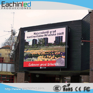 Full color video LED Screen P6 Outdoor LED display LED running message sign Shenzhen