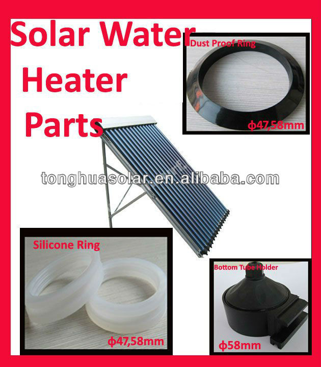 Hot Sale Different Diameter Silicon Seal Ring for Solar Water Heater parts