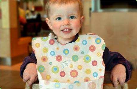 Disposable Paper Baby Bib(Waterproof Type)